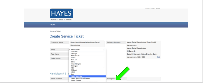 How to use online tracking system - hayeshandpiece com au